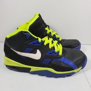 Youth Nike Sz 6.5 Air Trainer SC GS Blue Voltage